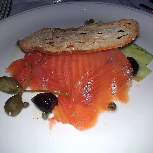 Smoked Salmon Salad @ Lancaster Hotel