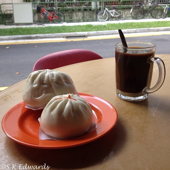 Dim Sum And Kopi @ Streets Of Singapore