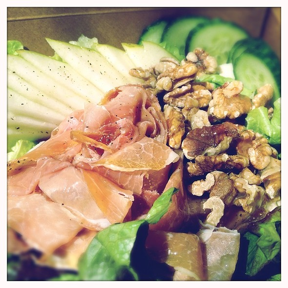 House Salad With Proscuitto @ Finch's Tea & Coffee House