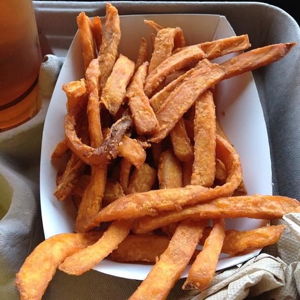 Sweet potato fries @ Derby Grill