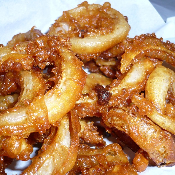 Onion Rings @ Mister Tramps