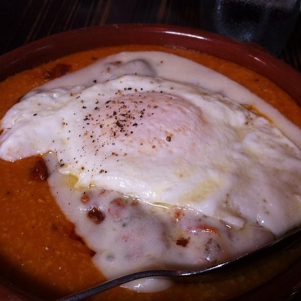 Polenta & Sausage Ragu With Mozzarella & Fried Egg