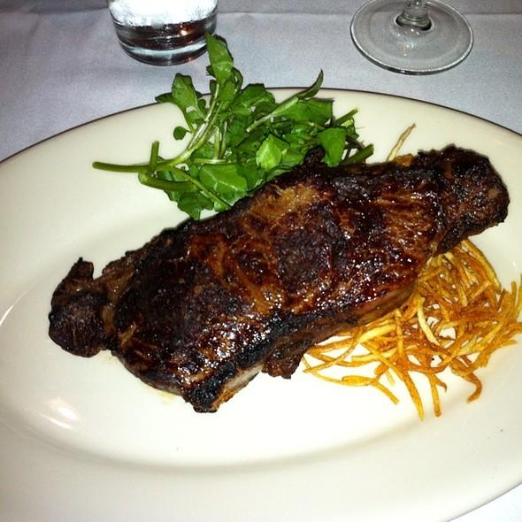 Dry-Aged NY Strip - Bobby Van's Steakhouse - DC, Washington, DC