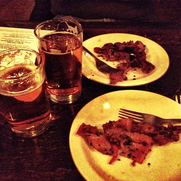 Beer And Bacon Tasting