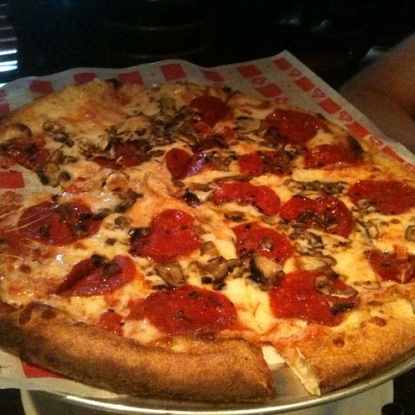 Pepperoni & Mushroom Pizza @ Besso's