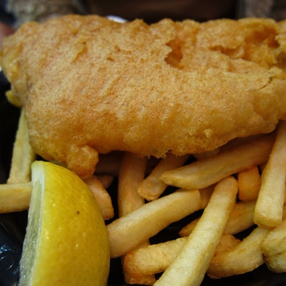 Fish and Chips @ Fish Markets Sydney