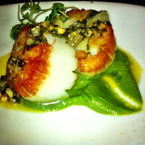 Pan Roasted Scallops @ Graffiato