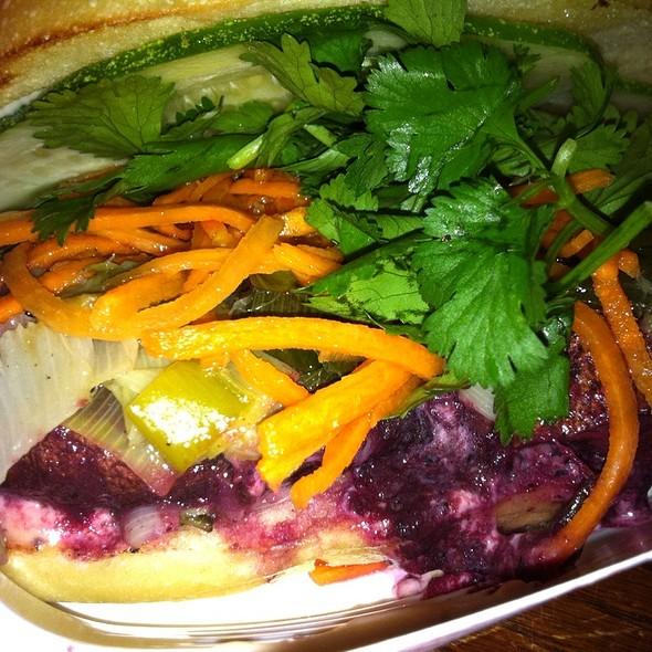 Portabella Mushroom Sandwich