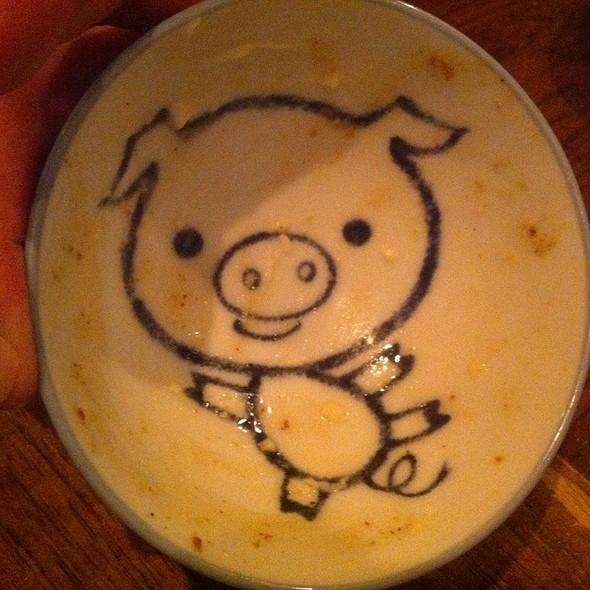 Pig Dish After Soft Serve Ice Cream @ The Purple Pig