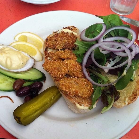 Oyster PoBoy @ swan restaurant