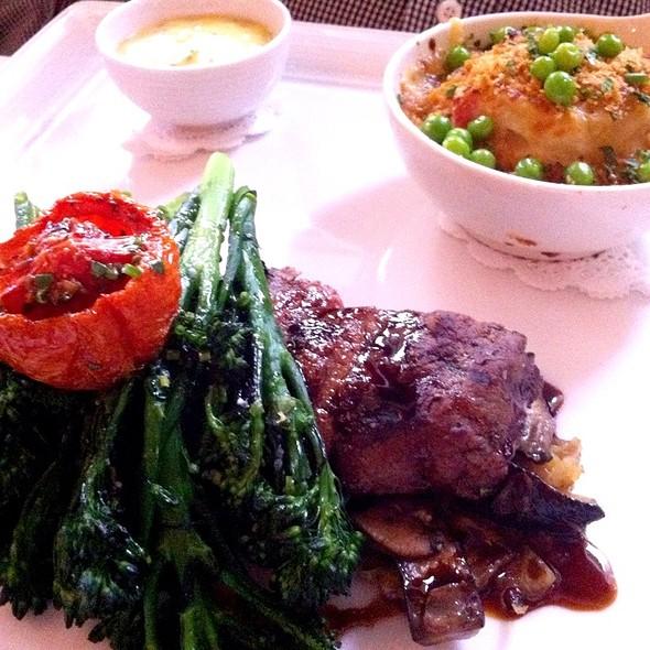 Cast Iron Grilled Prime Beef Tenderloin @ Market Restaurant+Bar