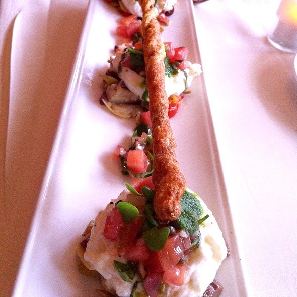 Burrata Cheese And Roasted Artichoke Salad @ Market Restaurant+Bar