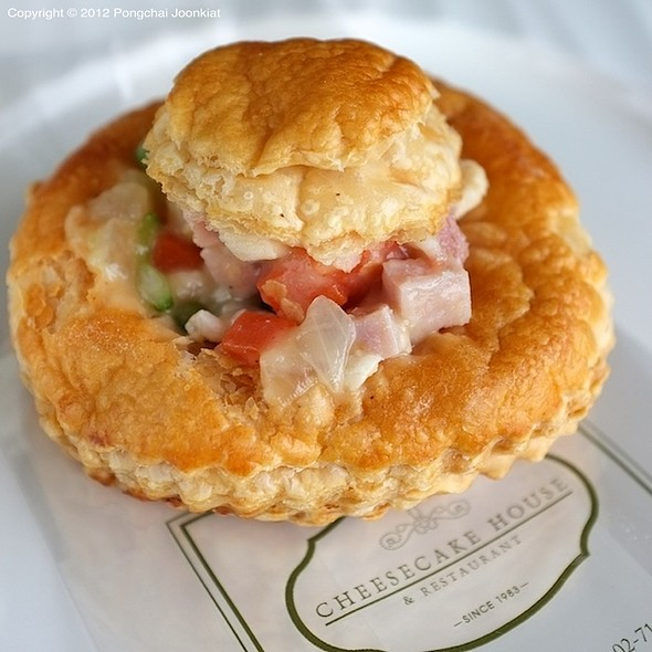 Chicken Vol Au Vent @ Cheesecake House & Restaurant