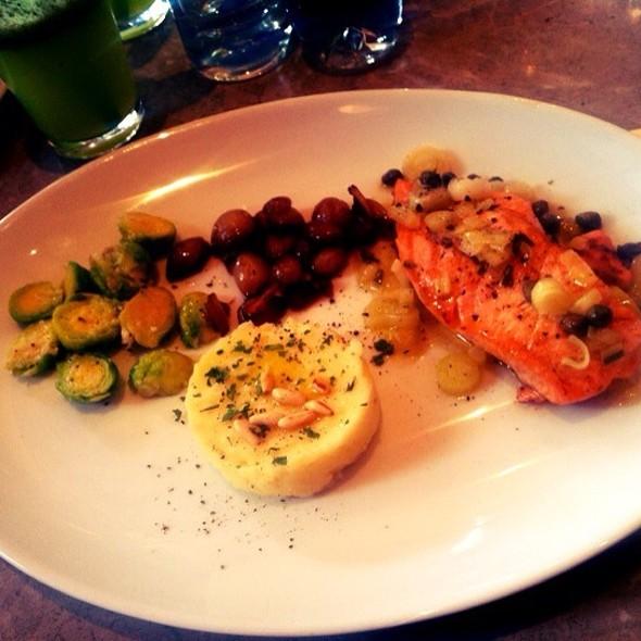 Salmon & Avocado Mille Feuille @ Mezzaluna
