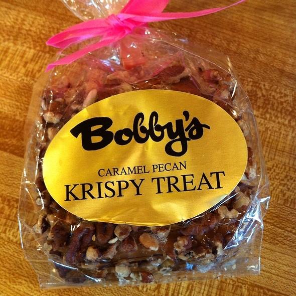 Caramel Pecan Krispy Treat @ Farmer's Market