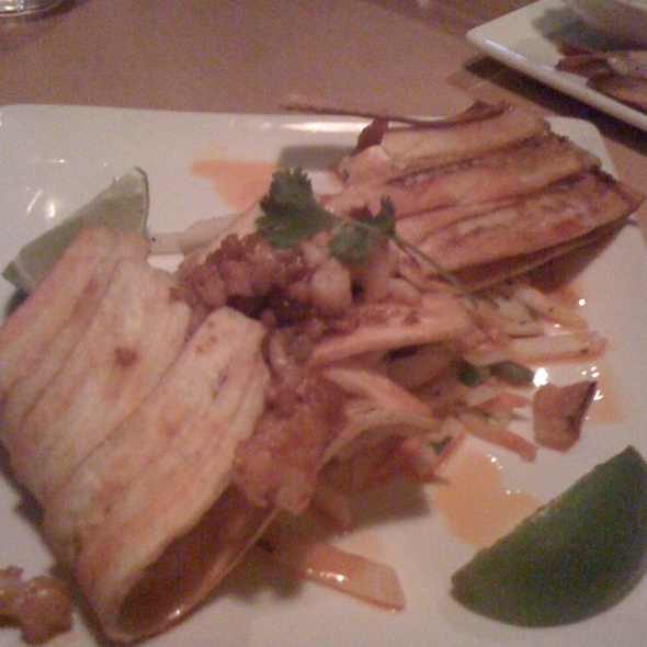 Plantain Shell Lobster Tacos @ Trostel's Dish