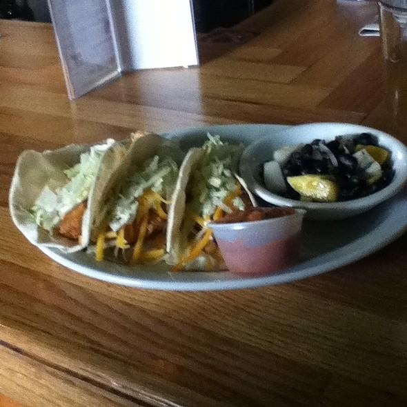 fish tacos @ Grumpy Troll Pub & Brewery