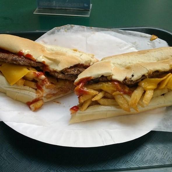 The Italian Burger @ Burger Grill