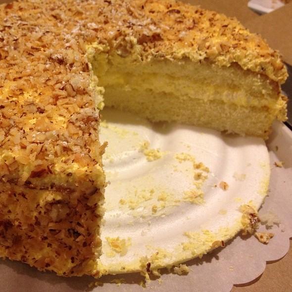 Burnt Almond Cake @ Peters' Bakery