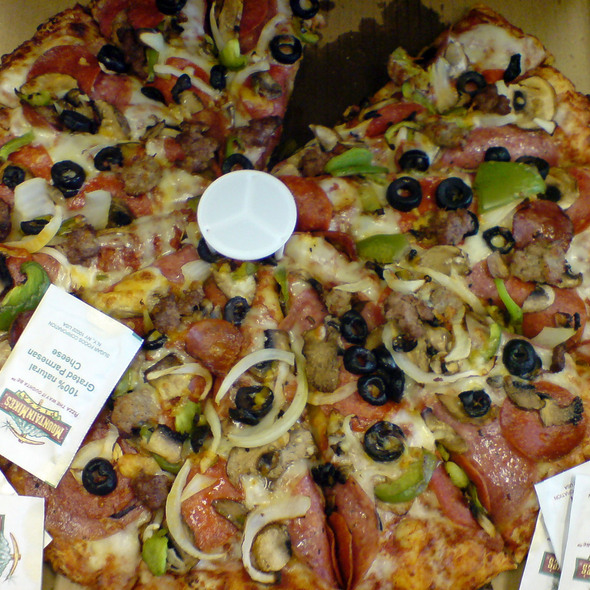 Combination Pizza @ Mountain Mike's Pizza