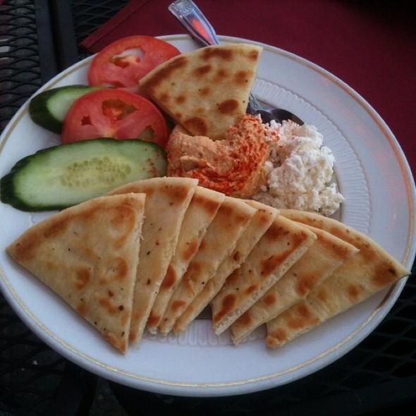 Hummus Plate - Julia's on Broadway, Seattle, WA