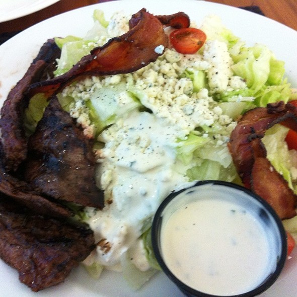 Blt Wedge Salad W/ Steak & Side Chimcurri