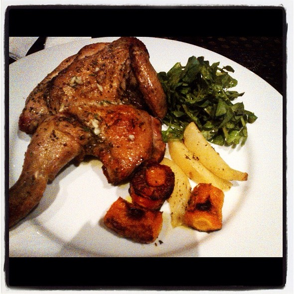 Roast Chicken @ Tongue&groove New American Restaurant, Bar N Cafe