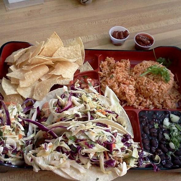 Taco Bento Box @ Nico's Tacos