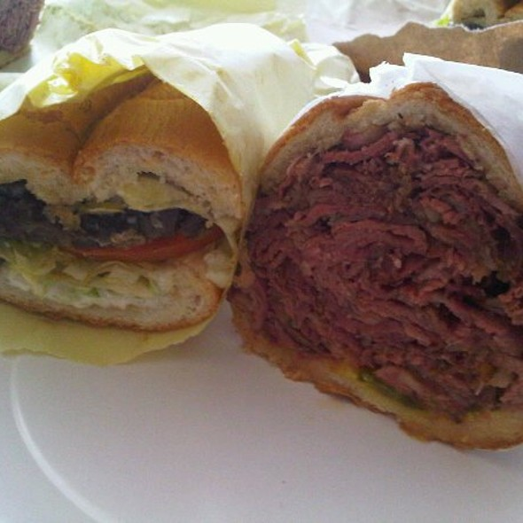 Steak Sandwich & Pastrami Sandwich