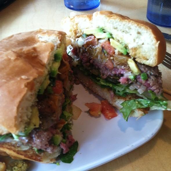 Flaming Tiki @ Crave Real Burgers