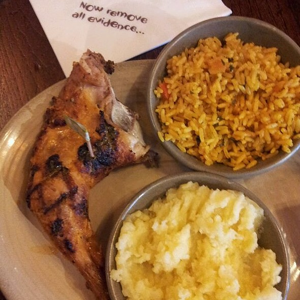 Quarter Chicken With Lemon&Herbs @ Nando's