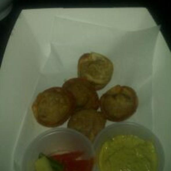 Cheeseburger Wontons