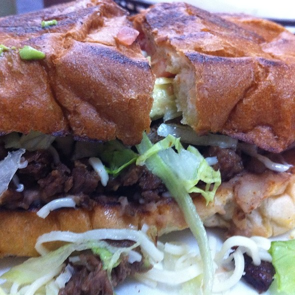 Steak Torta @ Tacos El Norte