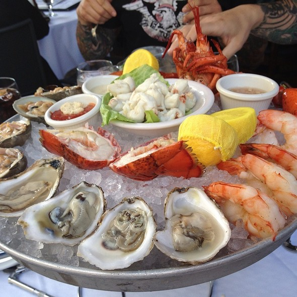Chilled Seafood Platter - Atlantic Fish, Boston, MA