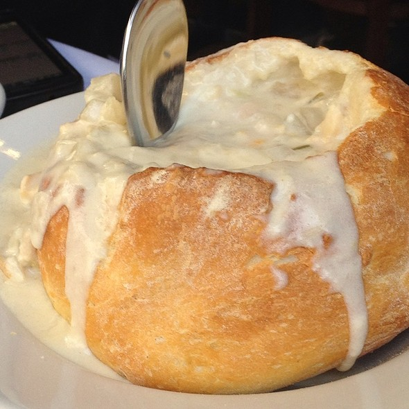 Clam Chowder - Atlantic Fish, Boston, MA