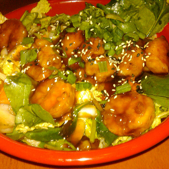 Teriyaki Shrimp Rice Bowl @ Pei Wei Asian Diner