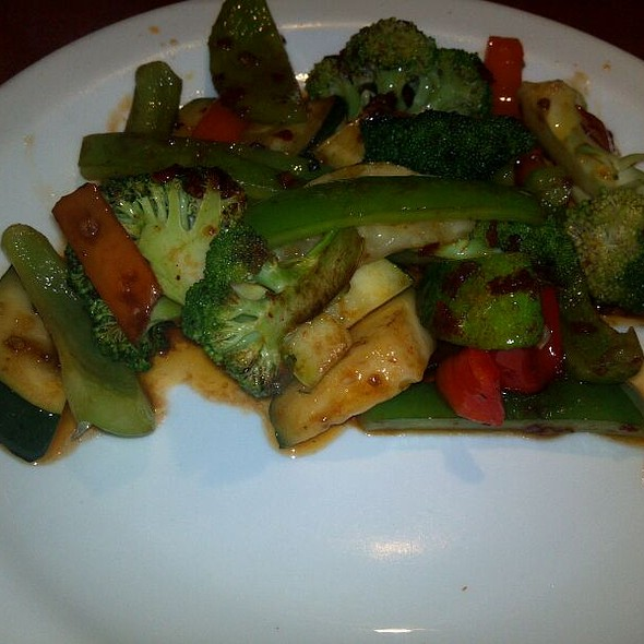 Japanese Hibachi Vegetables @ VariAsian Crazy Buffet In Tampa