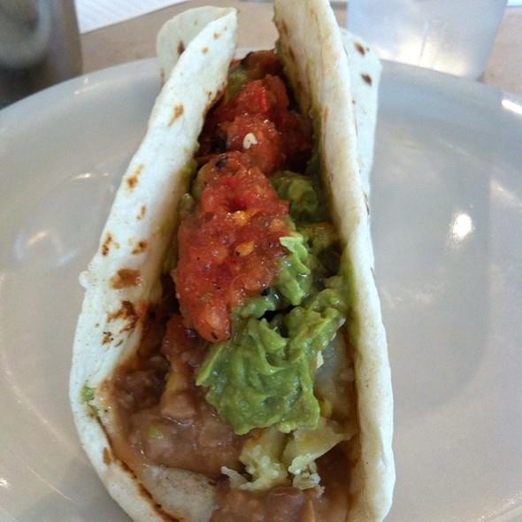 Taco Special W/Bacon And Guac @ Taco Taco Cafe