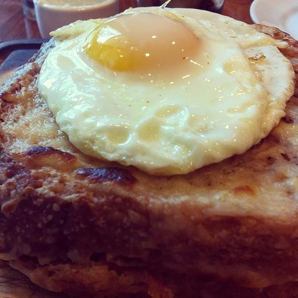 Croque Madame @ Luke - A Chef John Besh Restaurant
