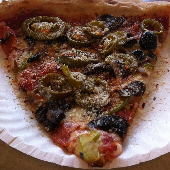 Kitchen Sink Pizza @ Central Park Pizza Of Ny