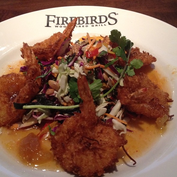 Coconut Shrimp @ Firebirds Wood Fired Grill