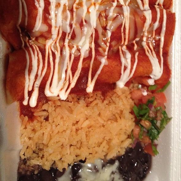 enchiladas @ Jose's Tacos