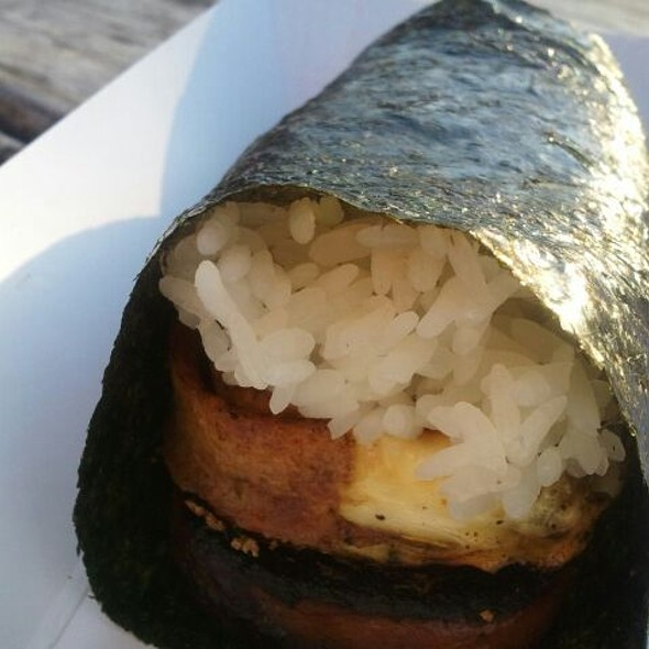 Spam And Egg Musubi @ Phamily Bites Food Truck