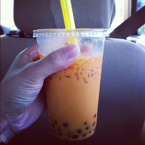Thai Iced Tea Boba @ Lily Market