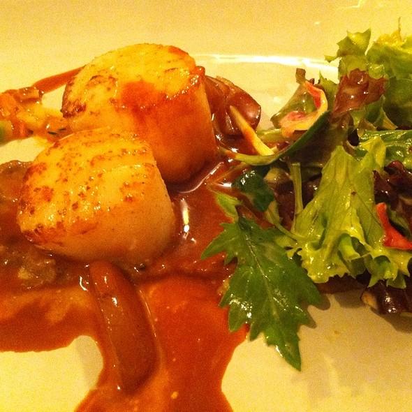 Jakobsmuscheln @ Flogaus Restaurant