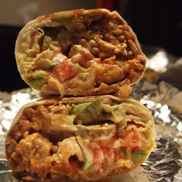 Chicken Burrito @ Big Fat Burrito (Bay and Dundas)