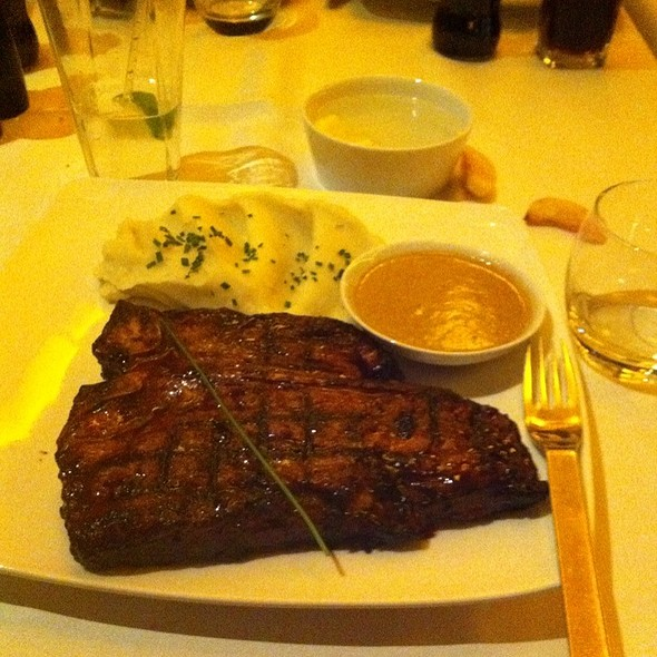 700gm T Bone Steak @ The Meat & Wine Company