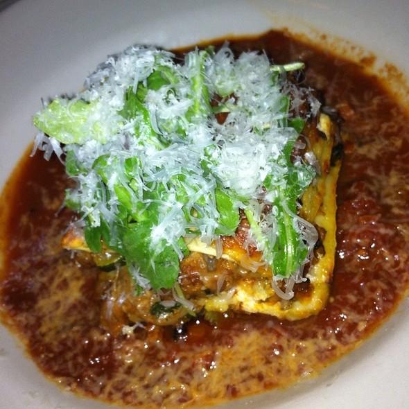 Lasagna Del Giorno - Botticelli's, Austin, TX