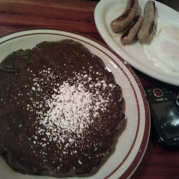 Buckwheat Pancakes @ Cup & Saucer Cafe