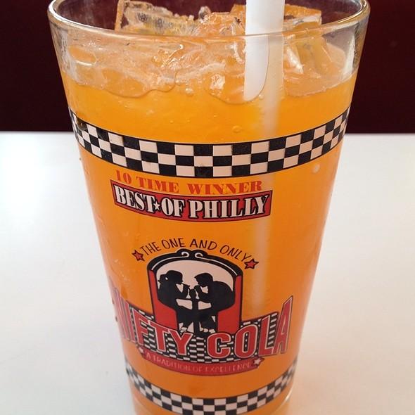 Orange Soda @ Nifty Fifty's